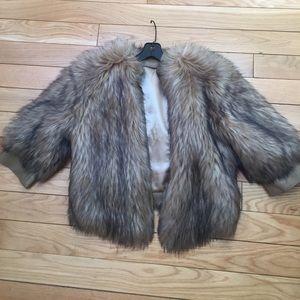 Love Token Faux Fur jacket S